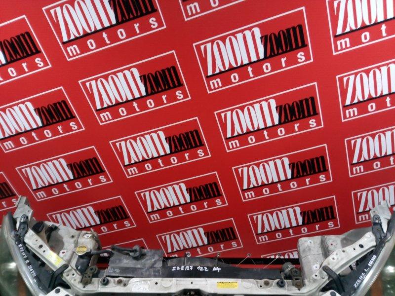 Рамка радиатора Toyota Will Vs ZZE127 1ZZ-FE 2001 передняя белый