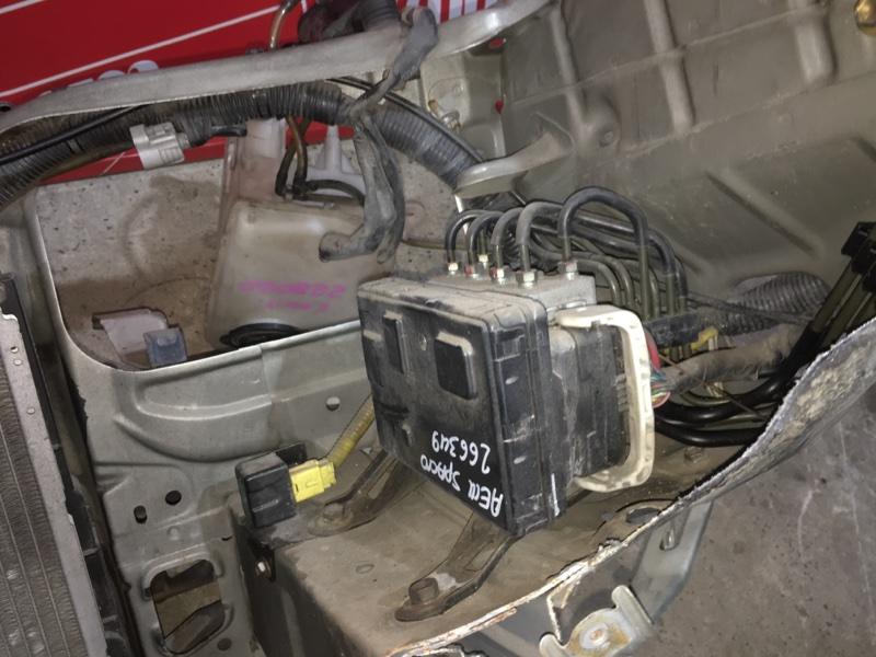 Блок abs (модулятор abs) Toyota Corolla Spacio AE111 4A-FE 1997 передний