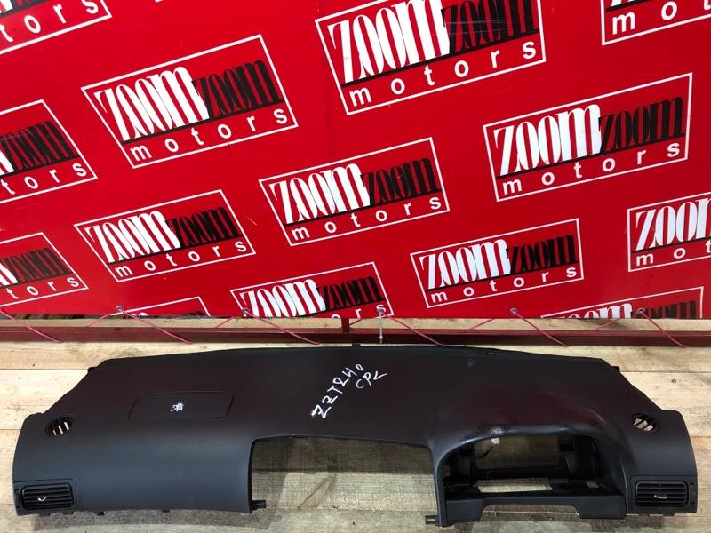 Панель передняя в салон (торпеда) Toyota Allion ZZT240 1ZZ-FE 2001 черный