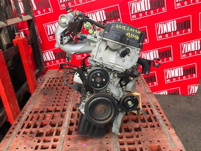 Двигатель Nissan Primera WQP11 QG18DE 1997