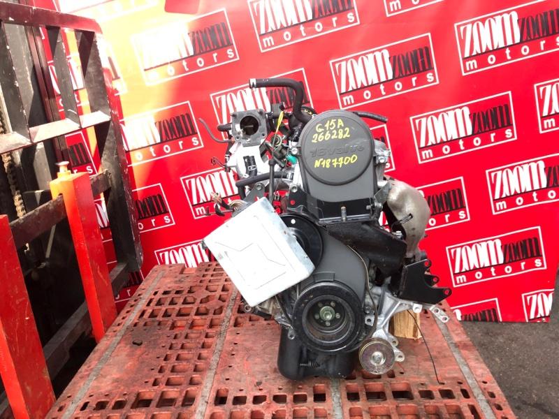 Двигатель Suzuki Cultus GC21W G15A 1997