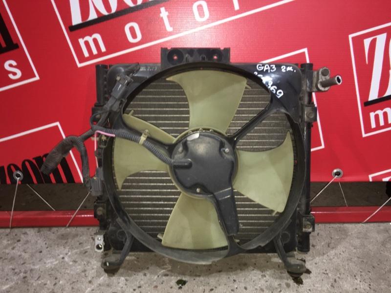 Радиатор кондиционера Honda Logo GA3 D15B 1998 передний