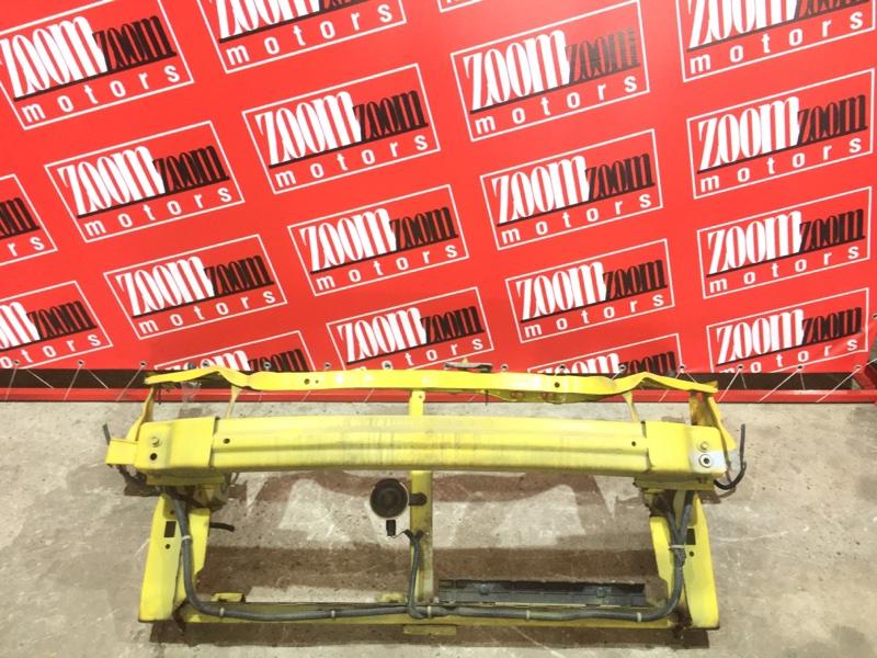Рамка радиатора Honda Logo GA3 D15B 1998 передняя желтый