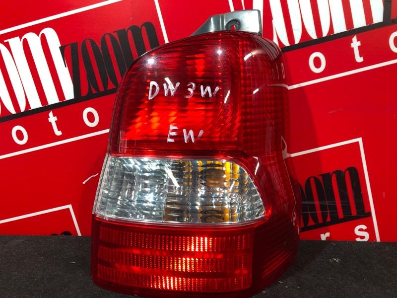 Фонарь (стоп-сигнал) Mazda Demio DW3W B3 1999 задний правый 4902