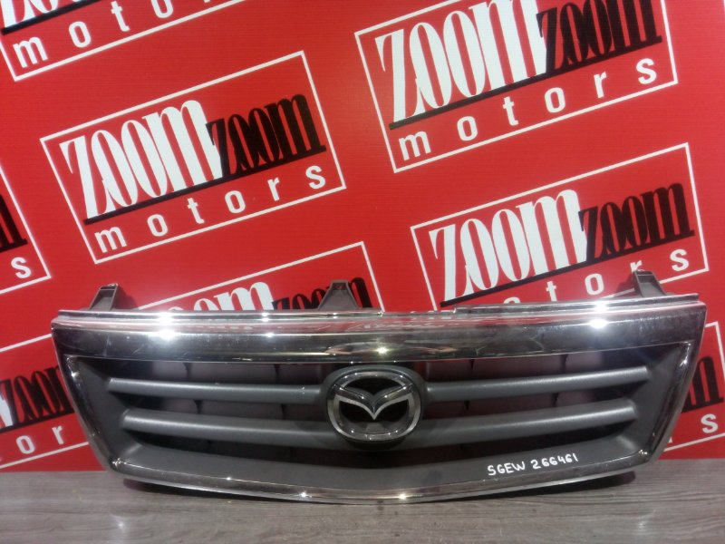 Решетка радиатора Mazda Bongo Friendee SGEW FE-E 2001 передняя хром