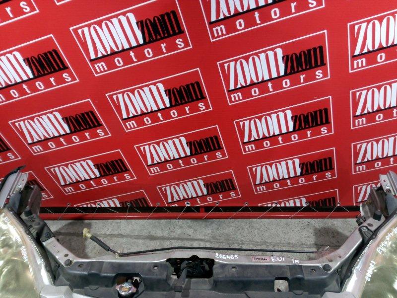 Рамка радиатора Honda Civic EU1 D15B 2001 передняя серебро