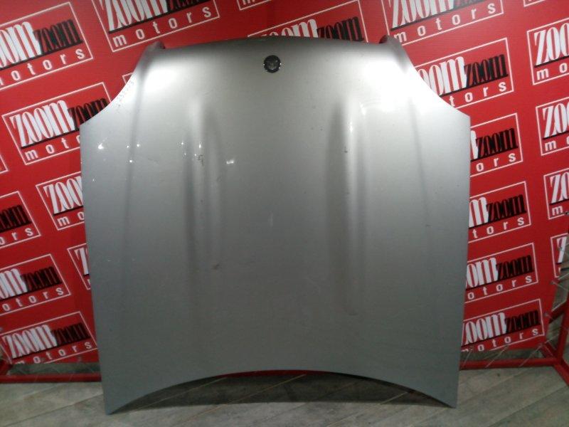 Капот Mercedes Slk230 Kompressor R170 M111 E2 1996 передний серебро
