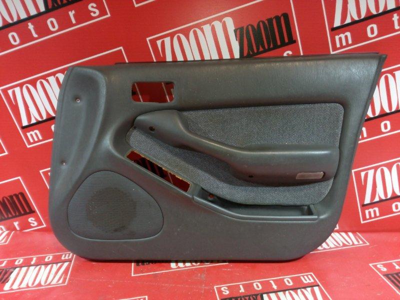 Обшивка двери Toyota Camry SV35 3S-FE 1990 серый