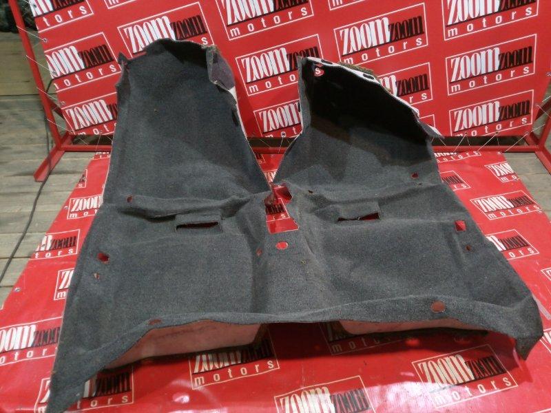 Обшивка (ковер) пола Toyota Camry SV33 3S-FE 1990 серый