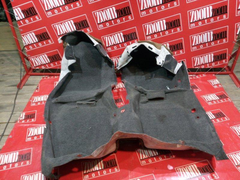 Обшивка (ковер) пола Toyota Camry SV35 3S-FE 1990 серый