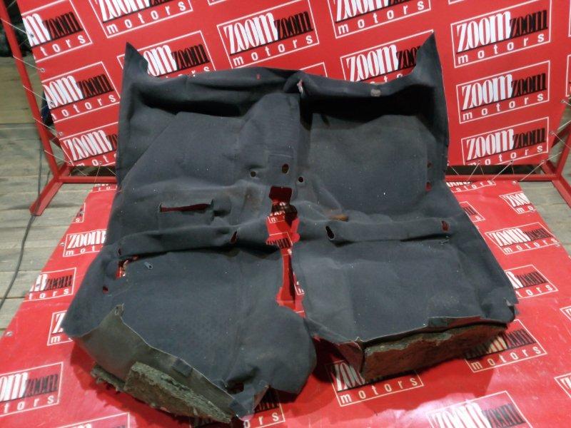 Обшивка (ковер) пола Toyota Camry SV30 4S-FE 1990 темно-серый