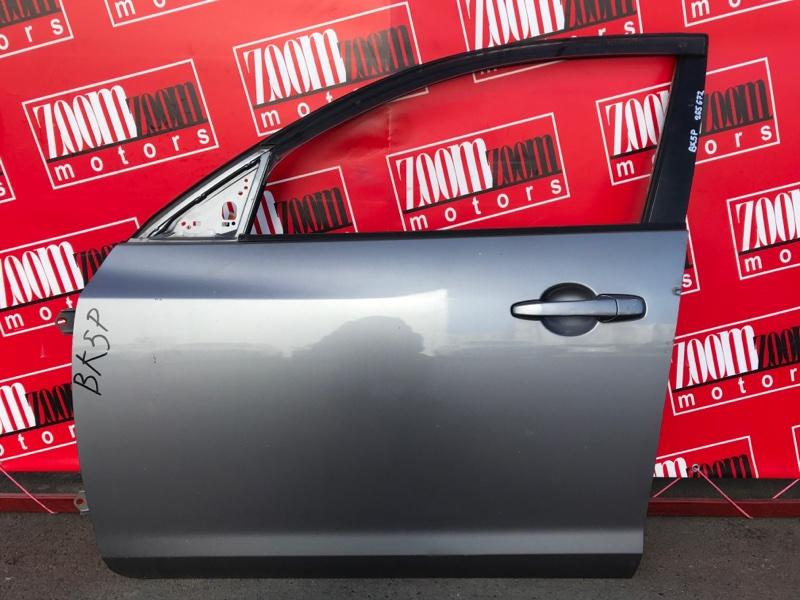 Дверь боковая Mazda Axela BKEP LF-DE 2003 передняя левая серый