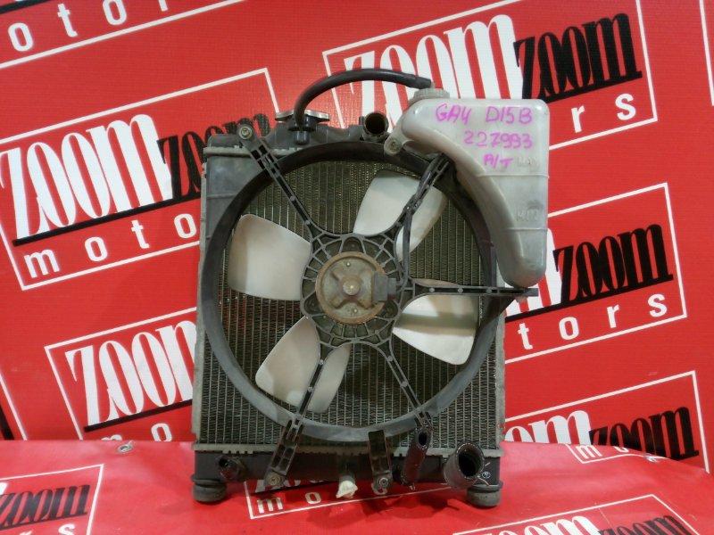 Радиатор двигателя Honda Capa GA4 D15B 1996 передний
