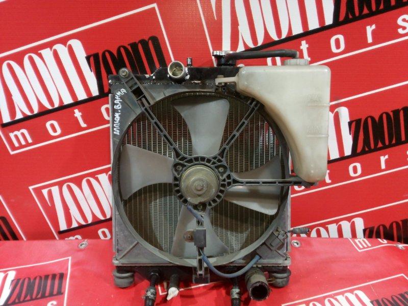 Радиатор двигателя Honda Logo GA3 D15B 1998 передний