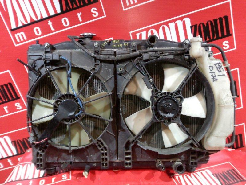 Радиатор двигателя Honda Edix BE1 D17A 2004