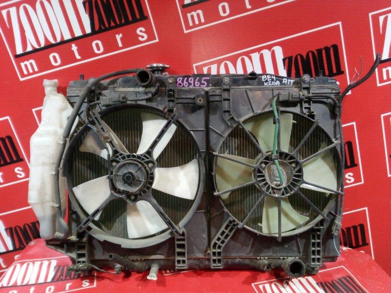 Радиатор двигателя Honda Edix BE4 K20A 2004 передний