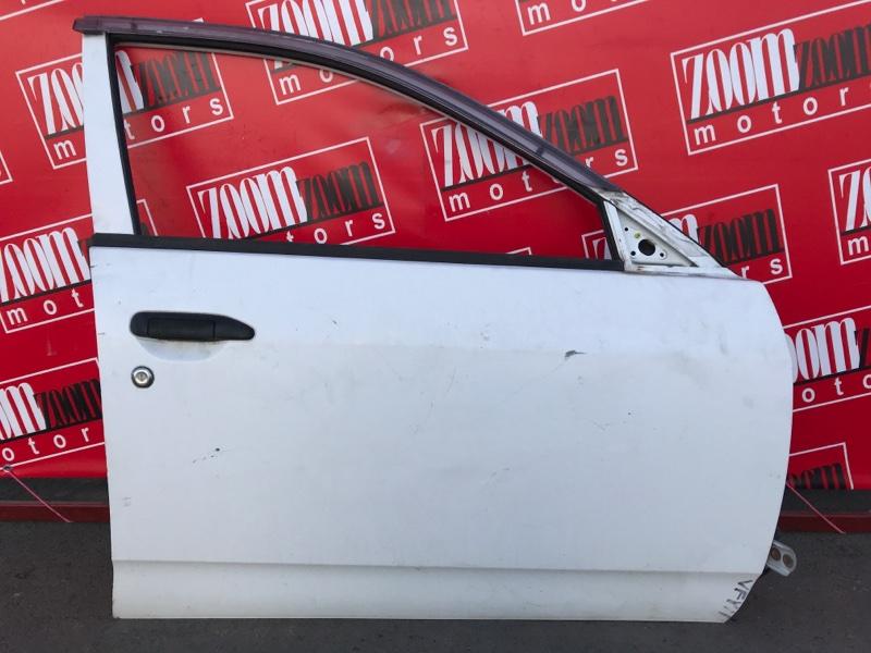 Дверь боковая Nissan Ad VFY11 QG15DE 1999 передняя правая белый