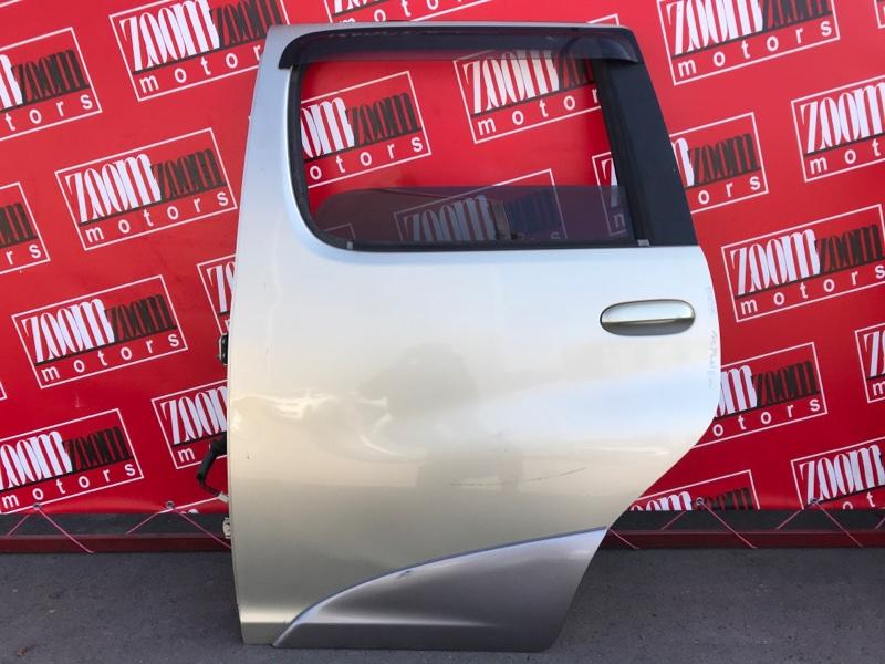 Дверь боковая Toyota Funcargo NCP20 2NZ-FE 1999 задняя левая золото