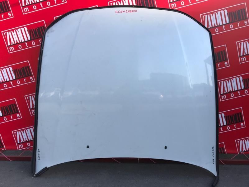 Капот Mitsubishi Legnum EC5W 6A13 1996 белый перламутр