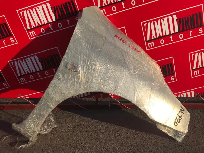 Крыло Toyota Funcargo NCP20 2NZ-FE 1999 переднее правое серебро