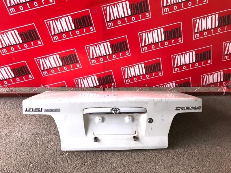 Крышка багажника Toyota Carina AT211 7A-FE 1996 белый