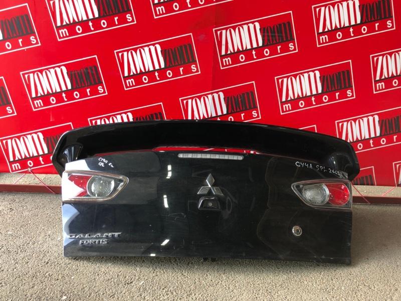 Крышка багажника Mitsubishi Lancer X CY4A 4B11 2006 черный