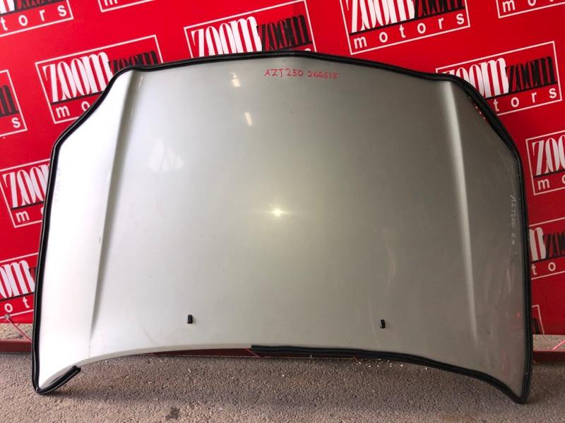 Капот Toyota Avensis AZT250 1AZ-FSE 2002 серебро