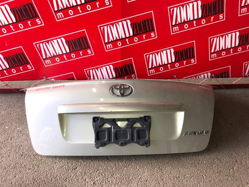 Крышка багажника Toyota Avensis AZT250 1AZ-FSE 2002 серебро