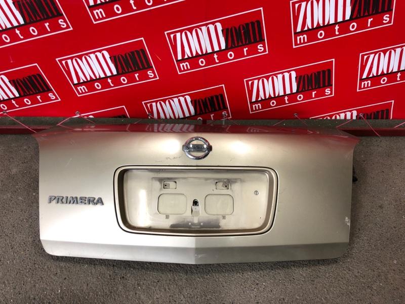 Крышка багажника Nissan Primera TP12 QR20DE `2001 золото