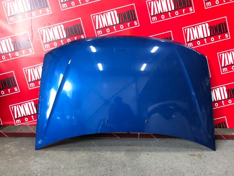 Капот Mazda Demio DW3W B3-E 1999 синий