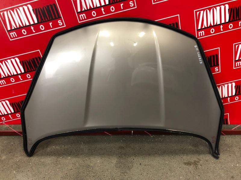 Капот Nissan Note E11 HR15DE 2008 серебро