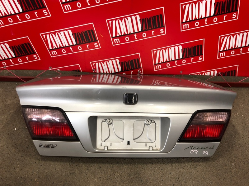 Крышка багажника Honda Accord CF4 F20B 1997 серебро