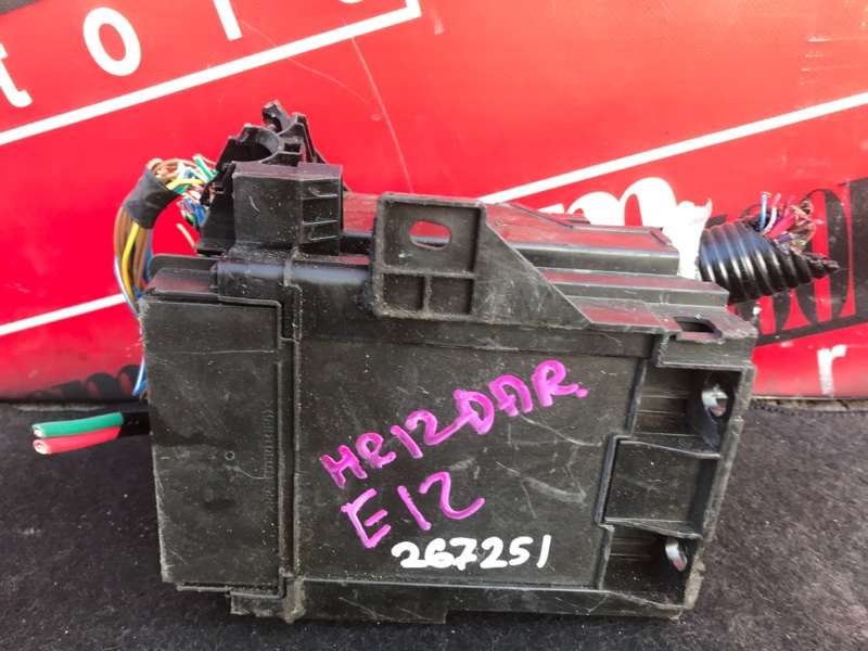 Блок реле и предохранителей Nissan Note E12 HR12DDR 2012