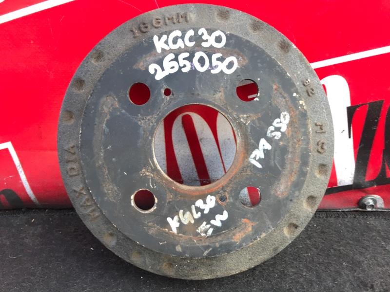 Барабан тормозной Toyota Passo KGC30 1KR-FE 2010 задний