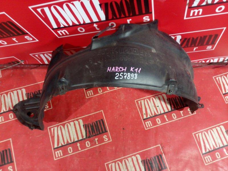 Подкрылок Nissan March K11 CG10DE 1995 передний левый
