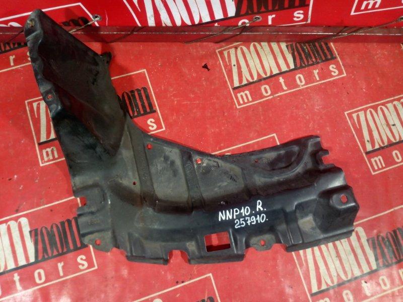 Защита двс Toyota Porte NNP10 1NZ-FE 2004 передняя правая