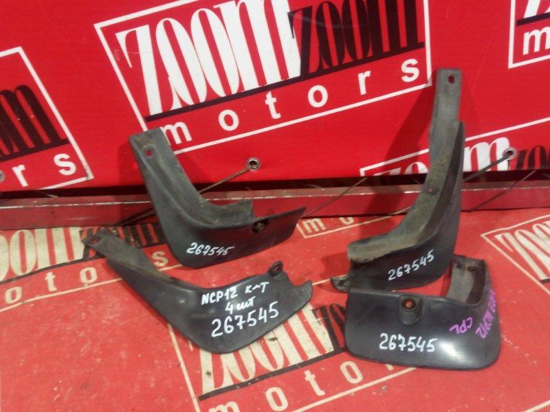 Брызговик Toyota Platz NCP12 1NZ-FE 1999 черный