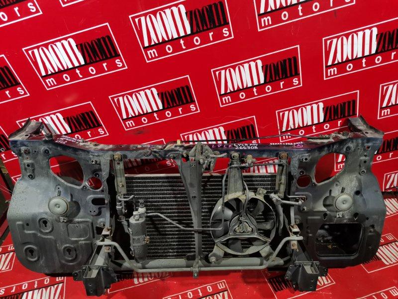 Рамка радиатора Mazda Mpv LVLR WL-T 1995 передняя баклажан