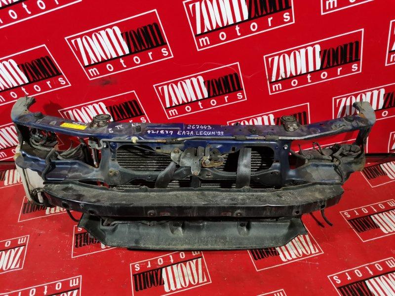 Рамка радиатора Mitsubishi Galant EA1A 4G93 1996 передняя темно-синий