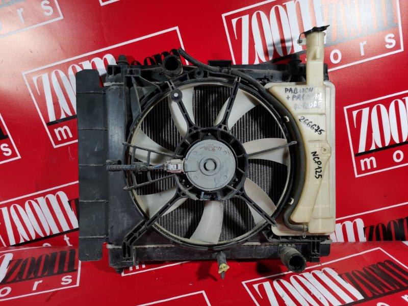 Радиатор двигателя Toyota Ractis NCP120 1NZ-FE 2010 передний