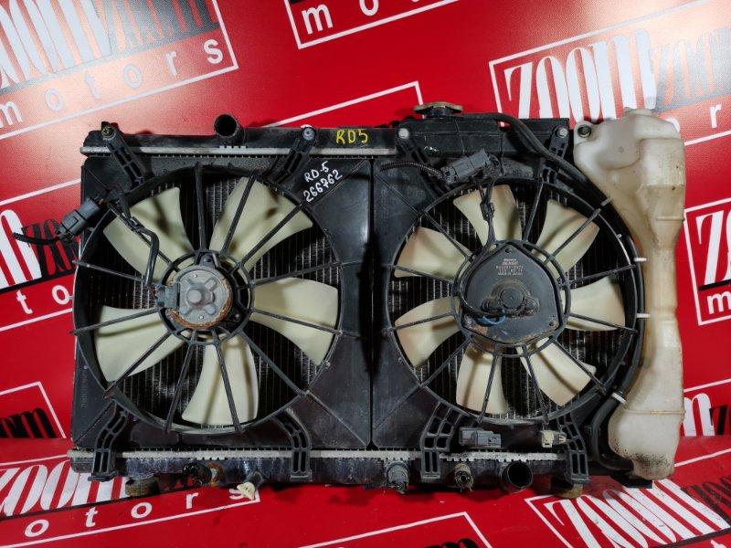 Радиатор двигателя Honda Cr-V RD5 K24A 2001 передний
