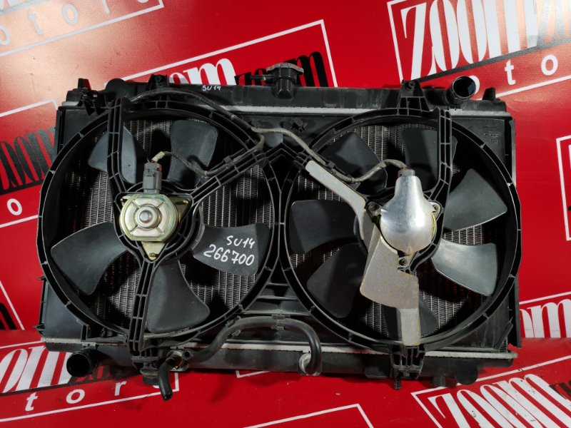 Радиатор двигателя Nissan Bluebird EU14 SR20DE 1997 передний