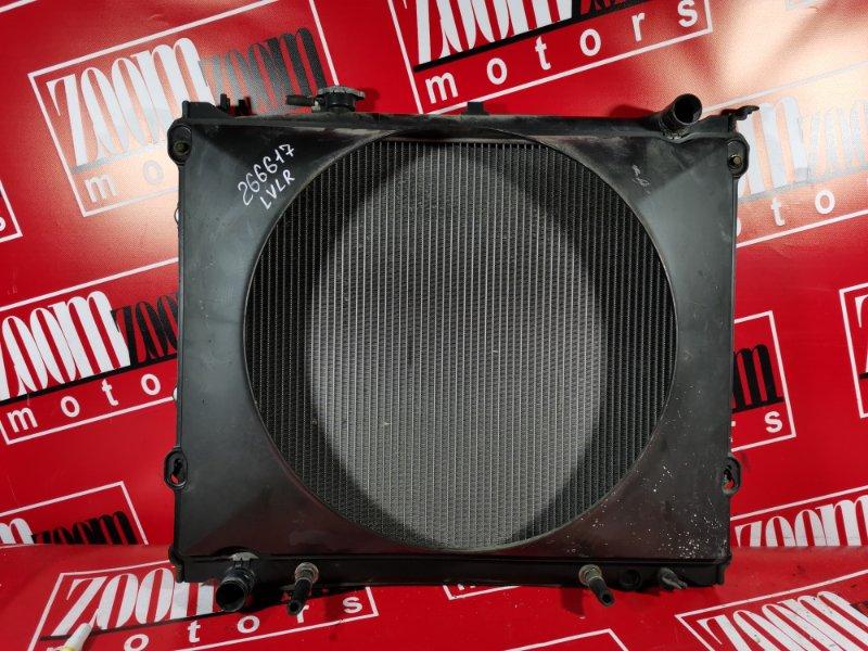Радиатор двигателя Mazda Mpv LVLR WL-T 1995 передний