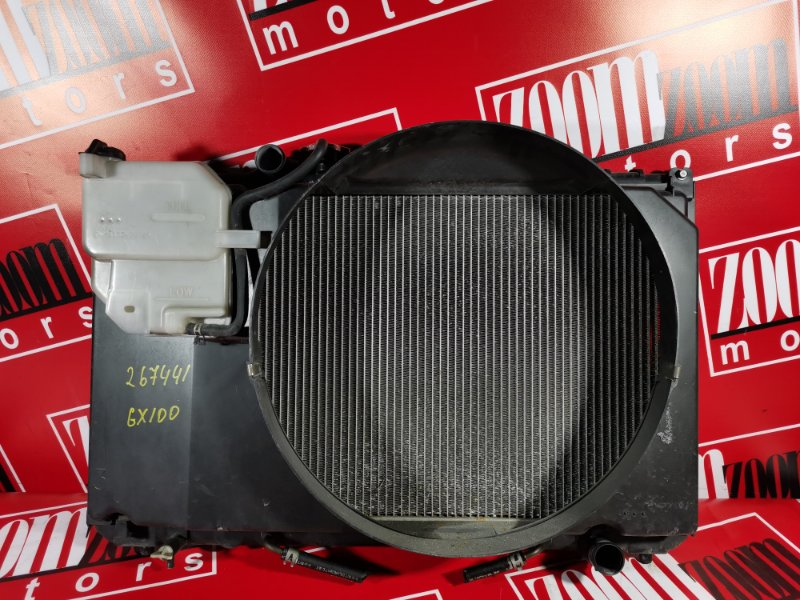 Радиатор двигателя Toyota Chaser GX100 1G-FE 1996