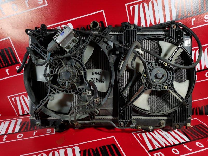Радиатор двигателя Mitsubishi Galant EA1A 4G64 2001 передний