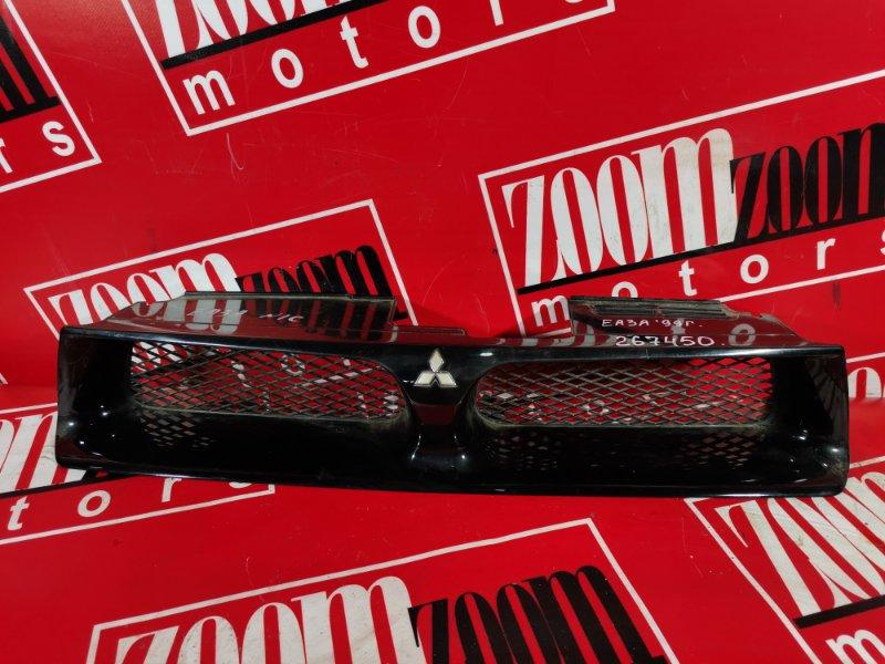 Решетка радиатора Mitsubishi Galant EA1A 4G93 2001 передняя черный