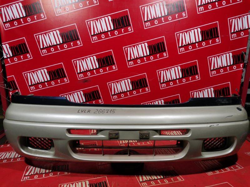 Бампер Mazda Mpv LVLR WL-T 1995 передний серо-бежевый