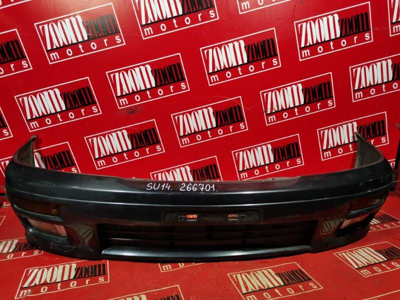 Бампер Nissan Bluebird EU14 SR20DE 1997 передний черный