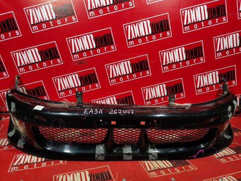 Бампер Mitsubishi Galant EA1A 4G64 2001 передний черный