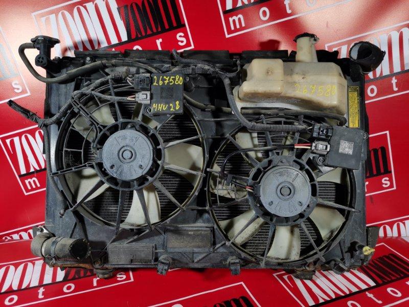 Радиатор двигателя Toyota Kluger V MHU28 3MZ-FE 2001 передний